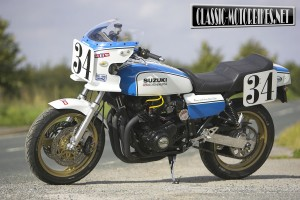 Street special Suzuki GS1000 Wes Cooley replica