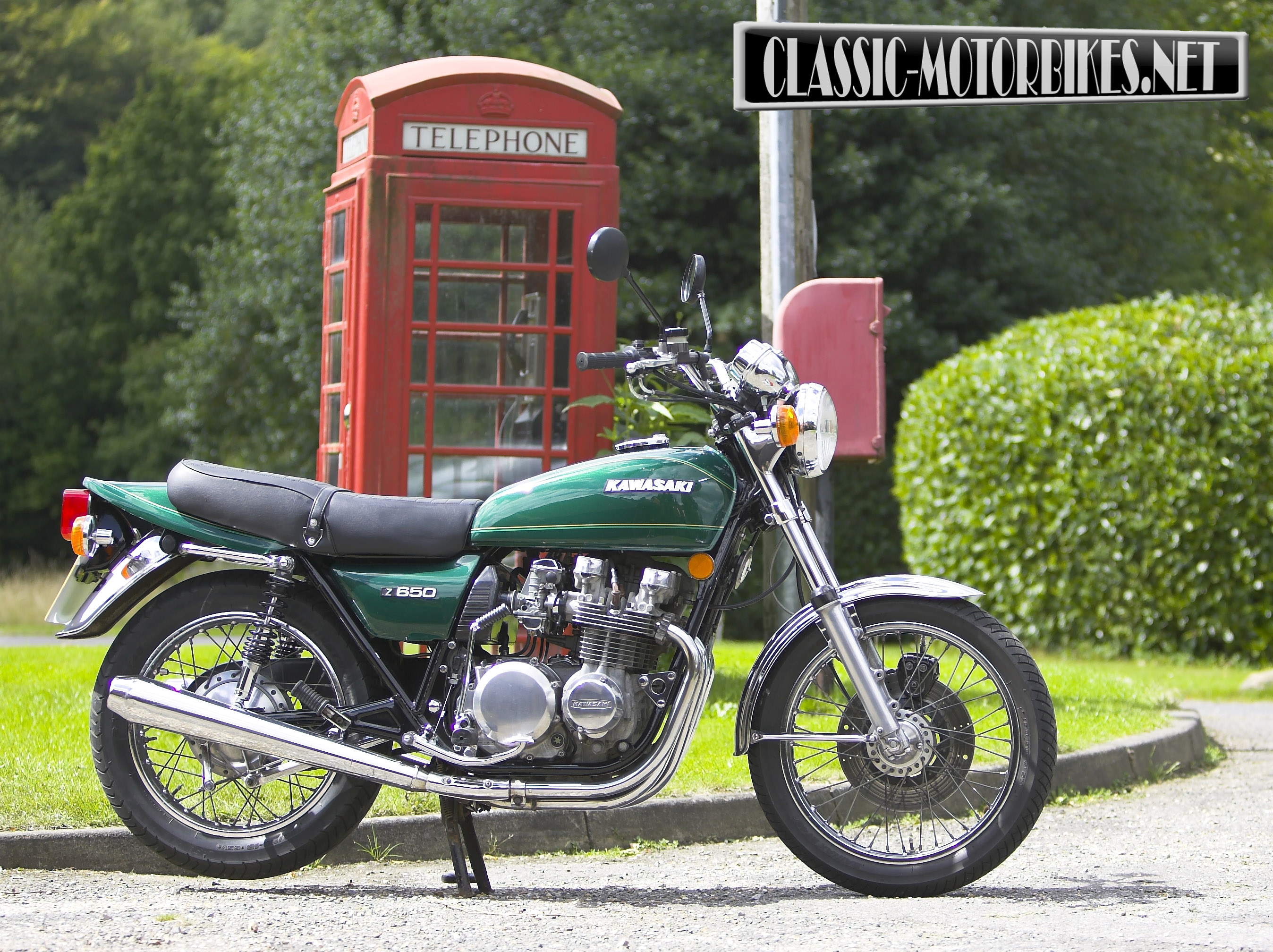 kawasaki z650 road test classic motorbikes. Black Bedroom Furniture Sets. Home Design Ideas