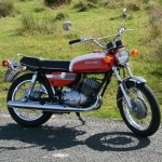 Suzuki T350 road test