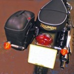 Norman Hyde pannier frame kit for Triumph Scrambler