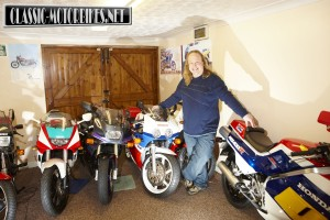 Andy Bolas's classic bike collection