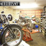 Elm Villa Classic Bikes Workshop