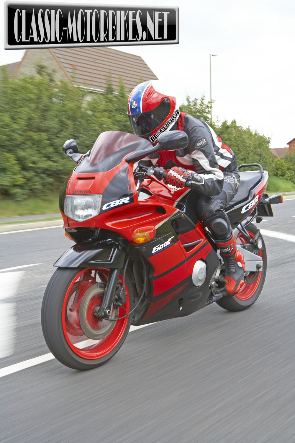 Honda CBR600F Road Test