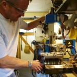 Milling and machining is all on tap