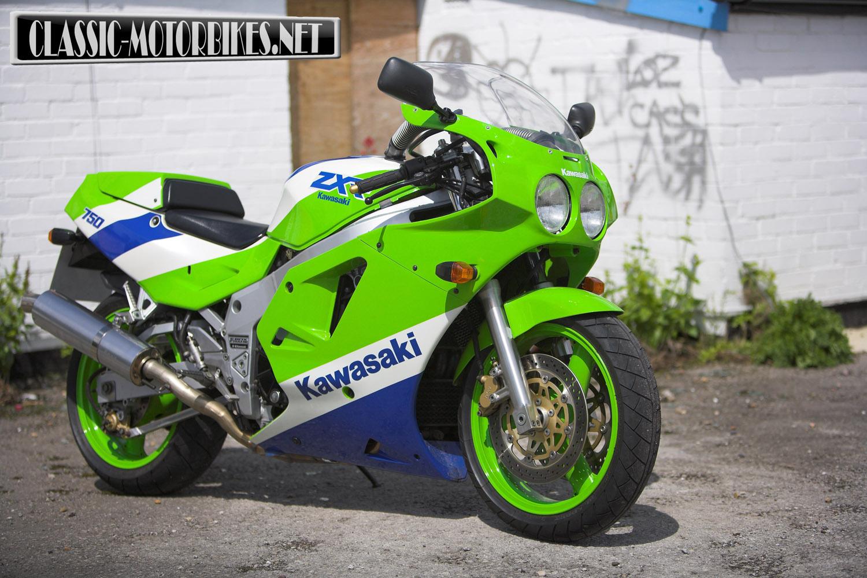 Kawasaki Zxr 750 идеи изображения мотоцикла