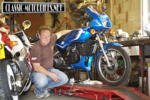 Yamaha RD125LC Restoration