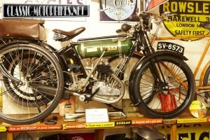 1924 BSA roundtank 250cc sidevalve