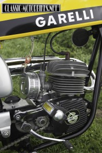 Garelli Tiger Cross Engine