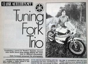 Original 1980 Yamaha YZ250R Magazine Article