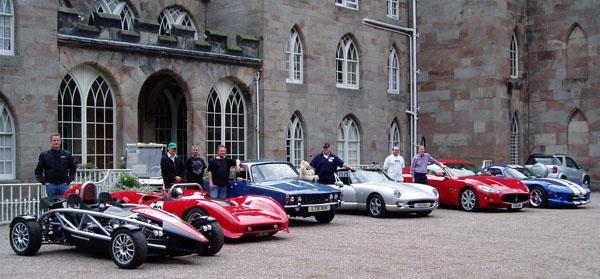 Festival Of Classic Cars Bikes Cholmondeley Castle