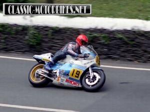Rob MacElnea at the TT