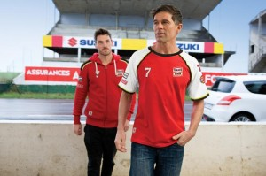 BARRY SHEENE CLOTHING LINE LAUNCHED BY SUZUKI