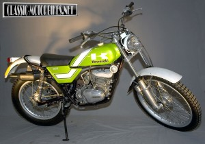 Kawasaki KT250 Restoration