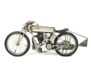 Rare 1920s Brooklands Racing Motorcycle
