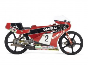 The ex-Eugenio Lazzarini,1983 Garelli 50cc Grand Prix Racing Motorcycle