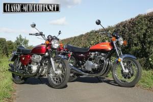 Honda CB750 V Kawasaki Z1 Road Test