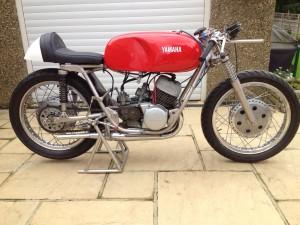 Reg Everett's 1964 Yamaha TD1A 250cc