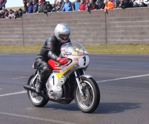 Six times World Champion Jim Redman loved the Anglesey track - 2