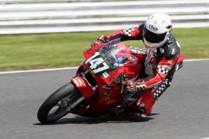 Mike Edwards on a Yamaha TZR250