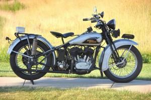 1933 Harley Davidson VLE Police b