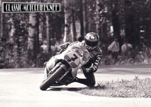 Barry Sheene Yamaha OW53