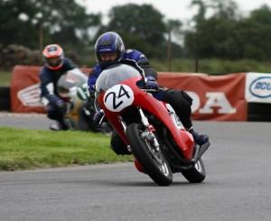 Dave Perry - 750 Honda Class A runner-up