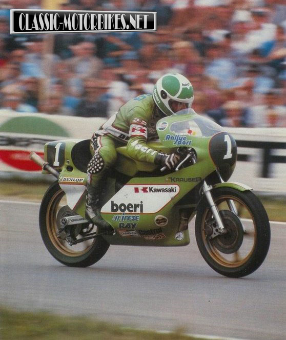 kawasaki kr250 race bike | classic motorbikes