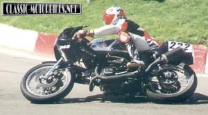 Ducati Pantah Race Shot
