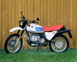 BMW R 80G-S debuted in 1980