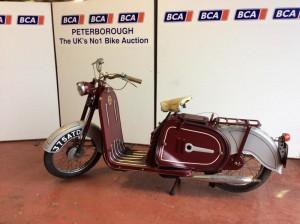 Rare Vintage Motorbikes at BCA