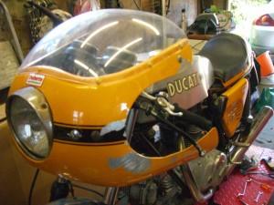 Ducati 750 Sport Restoration