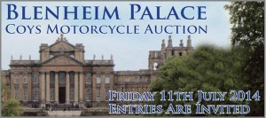 Coys To Auction Over 90 Motorcycles at Blenheim Palace