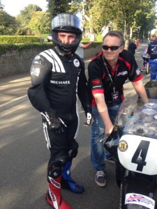 Dunlop Puts In 109 MPH Lap On National Motorcycle Museum Machine!