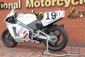 Steve Hislop's TT Winning Norton On Display