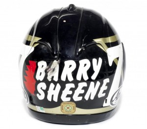 Barry Sheene's Crash Helmet