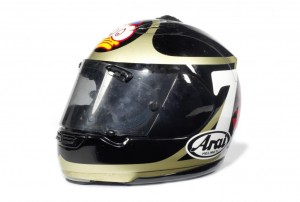 Barry Sheene Crash Helmet