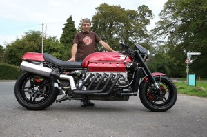Allen Millyard with his 500bhp Millyard Viper V10