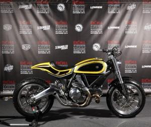 Ducati Scrambler built by Radikal Chopper