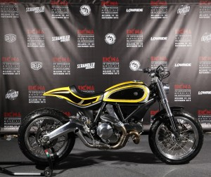 Ducati Scrambler built by Radikal Chopper