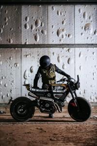 Ducati Scrambler custom bike by Vibrazioni Art Design