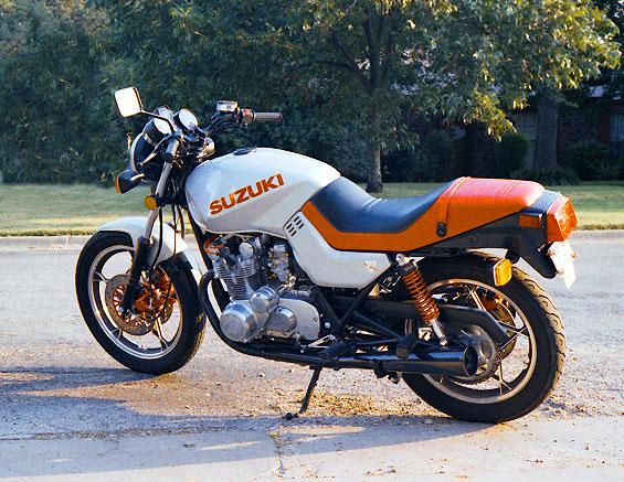 on 1981 Suzuki Gs550