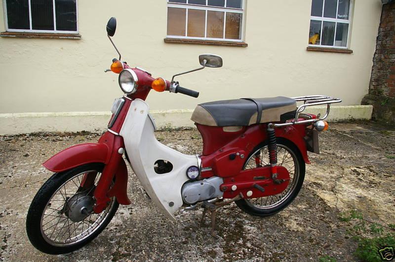 Honda C70 Classic Motorbikes