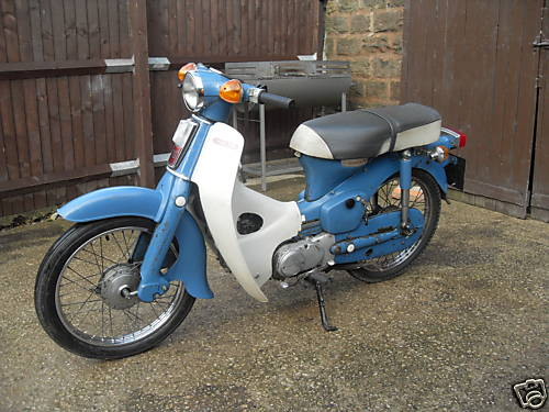 Honda C70 | Classic Motorbikes