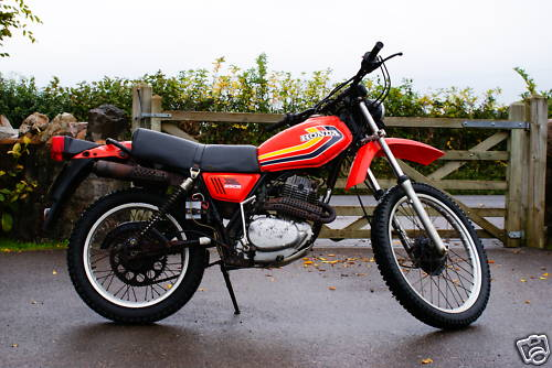 Honda Xl250 Gallery Classic Motorbikes