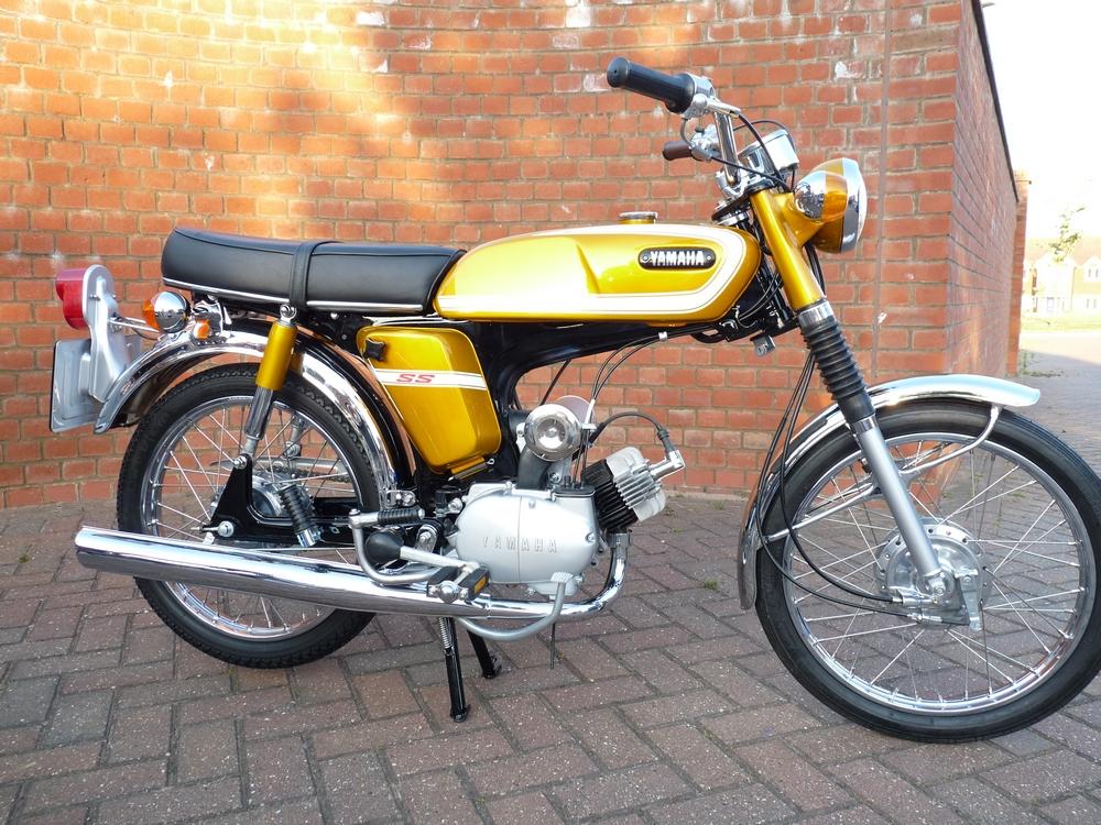 Yamaha Twin Motorcycle For Sale