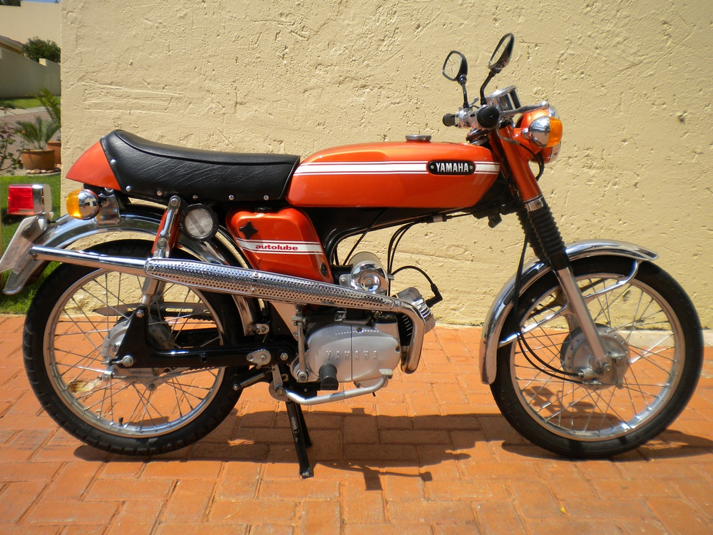yamaha fs1e fizzy gallery classic motorbikes. Black Bedroom Furniture Sets. Home Design Ideas