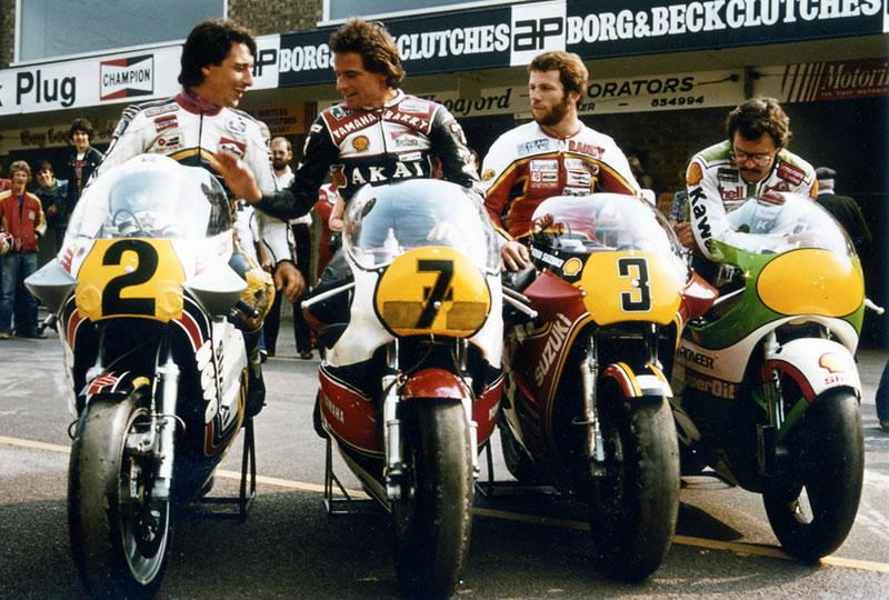 Barry Sheene Classic Motorbikes