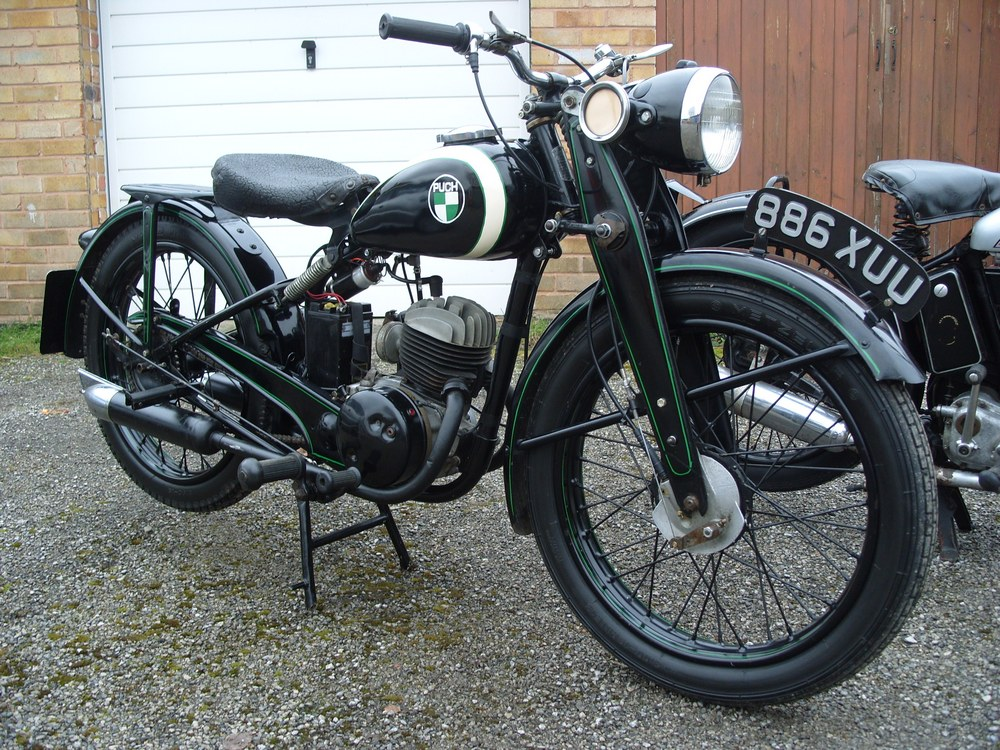 Puch classic motorcycles classic motorbikes