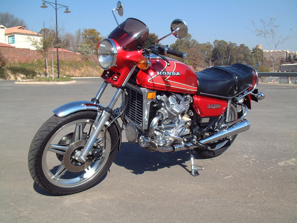 Honda CX500 Gallery