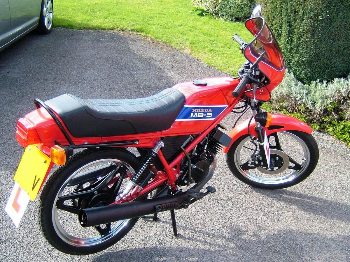 honda mb5 gallery classic motorbikes